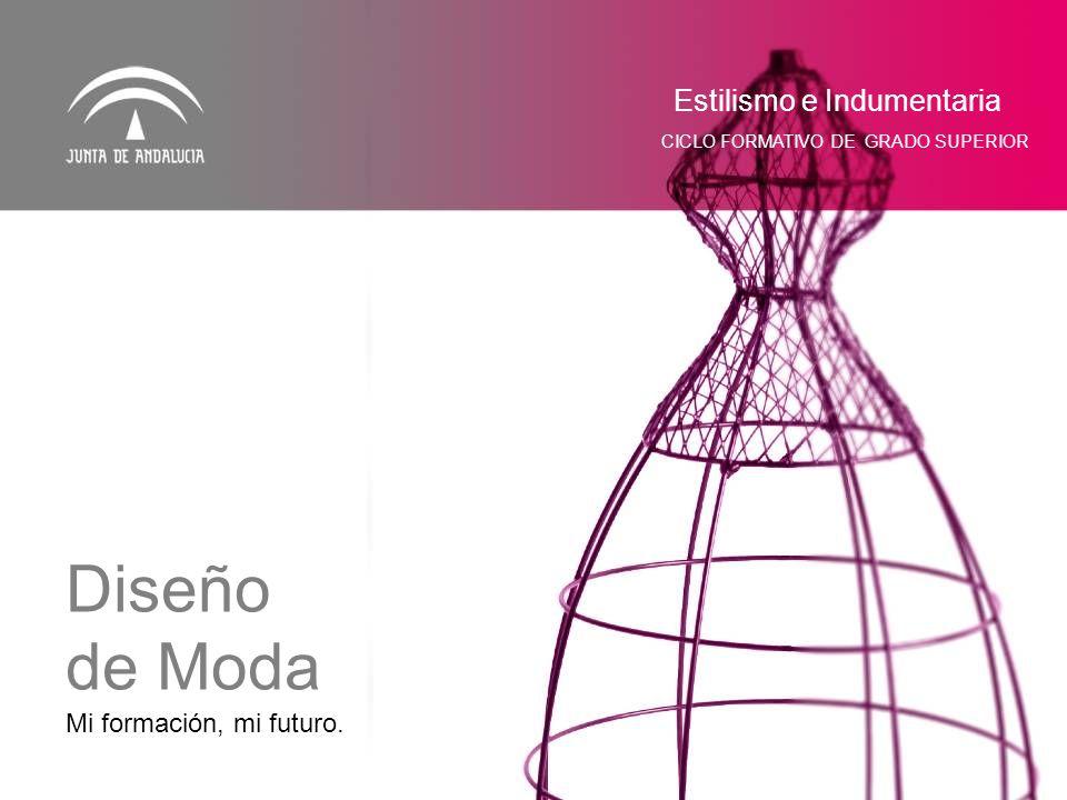 Mi formación, mi futuro. Estilismo e Indumentaria CICLO FORMATIVO DE GRADO SUPERIOR Diseño de Moda