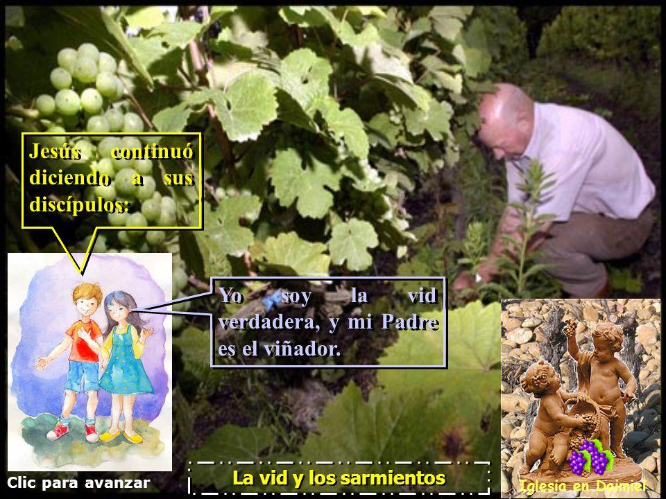 Clic para avanzar Iglesia en Daimiel La vid y los sarmientos Bueno..., sabes que tienes más presentaciones...