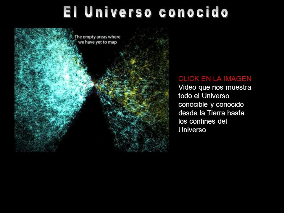 CLICK EN LA IMAGEN Video que nos muestra todo el Universo conocible y conocido desde la Tierra hasta los confines del Universo