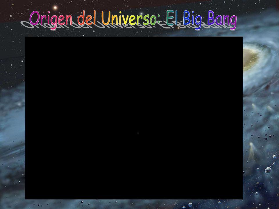 El Big Bang es el modelo científico más aceptado actualmente para la explicación del origen y desarrollo posterior del Universo. Según esta teoría tod