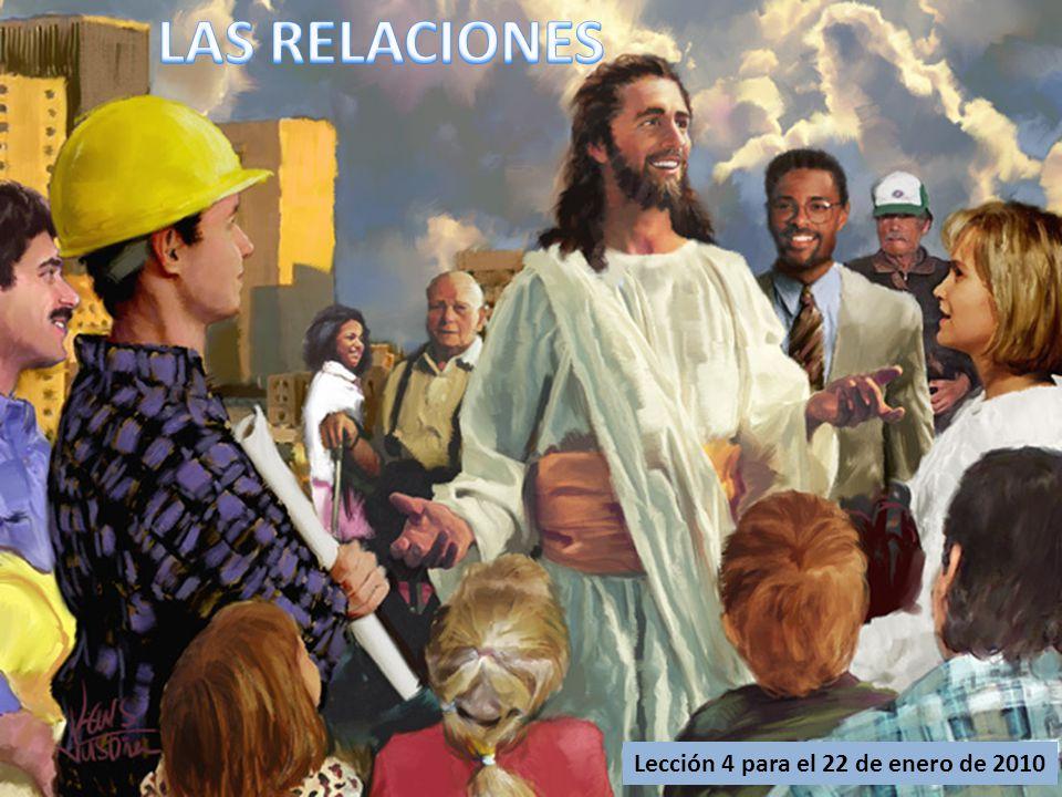 Lección 4 para el 22 de enero de 2010