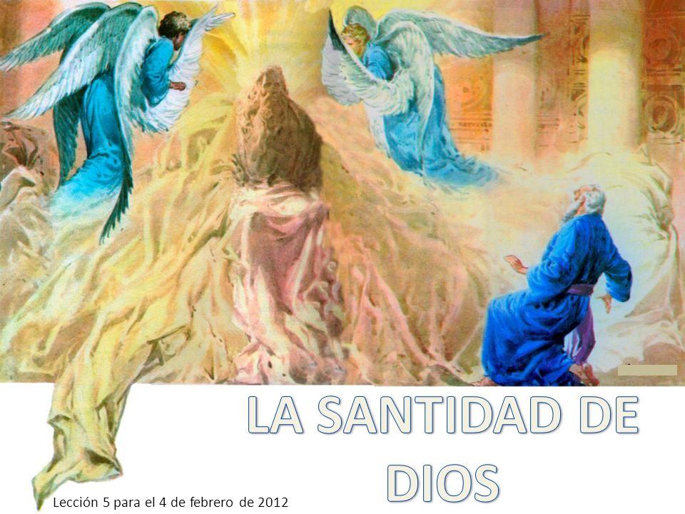 Podríamos definir santo como aquello que se aparta para un uso sagrado.