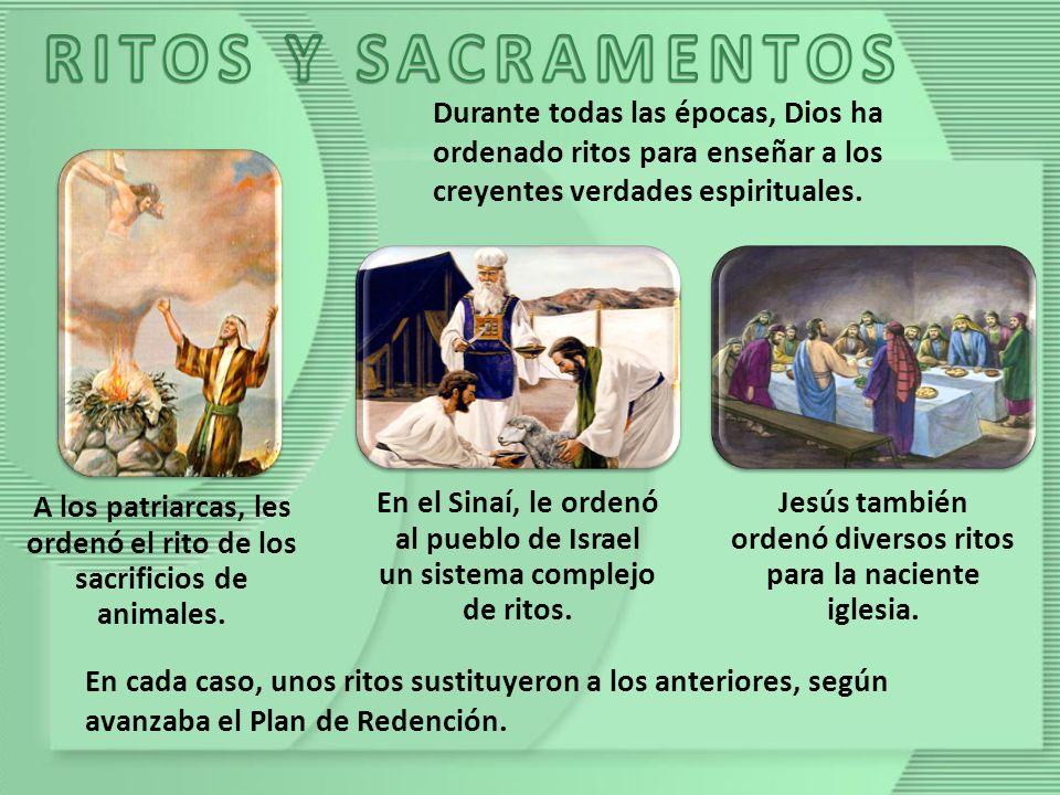 En los primeros tiempos de la iglesia cristiana, estos ritos recibieron el nombre de misterios o sacramentos.