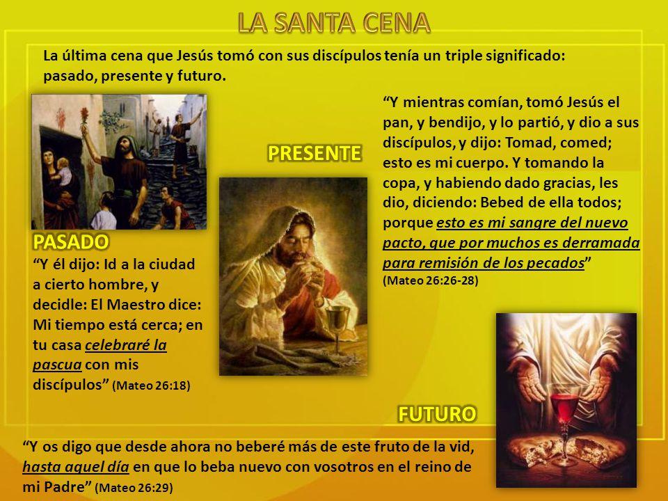 La Pascua que Jesús celebró conmemoraba la salida del pueblo de Israel de Egipto.