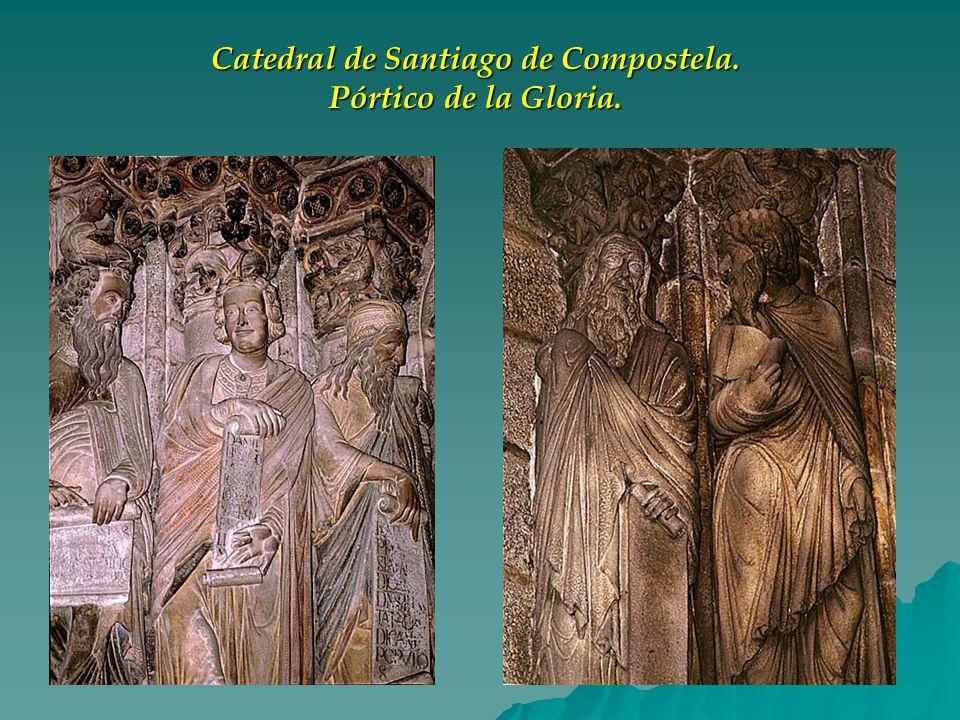 Catedral de Santiago de Compostela. Pórtico de la Gloria.