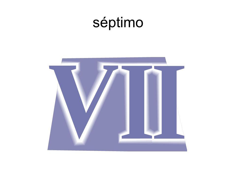 séptimo