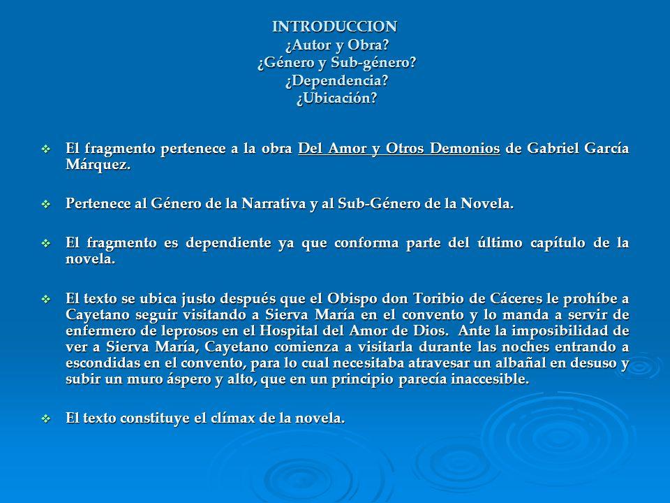 LENGUAJE Y VOCABULARIO ¿Coloquial / Literario / Regional.