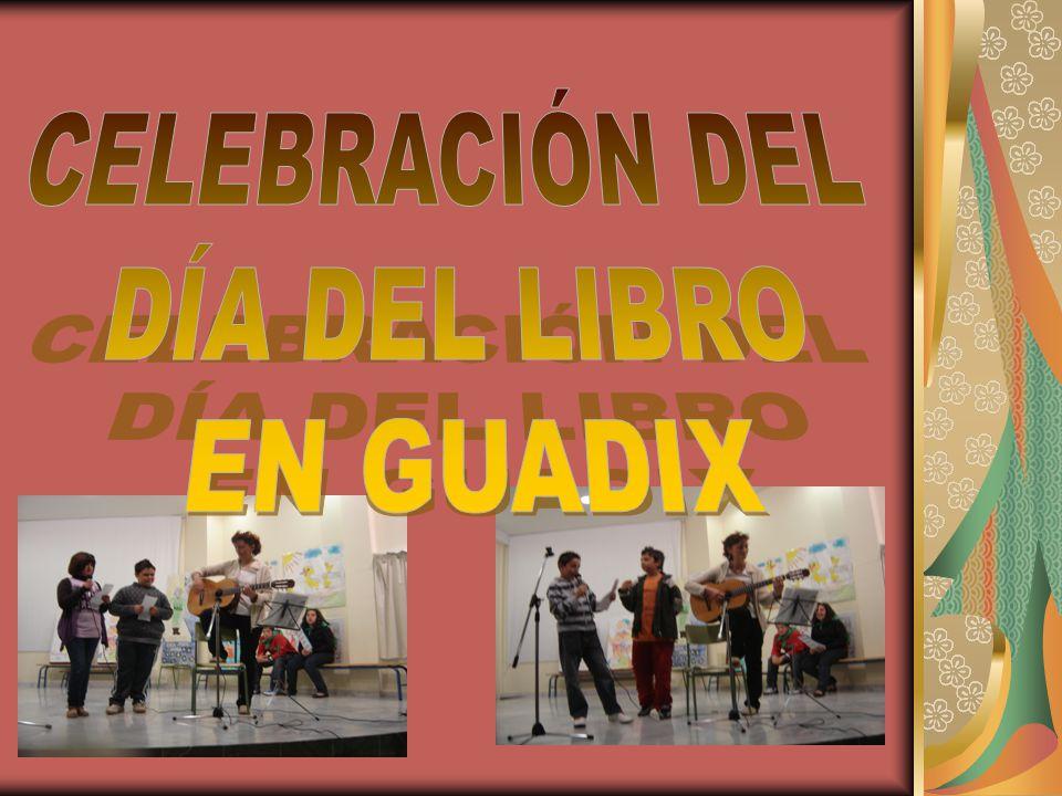 Este año para festejar el DÍA DEL LIBRO (que se celebra cada año el 23 de abril en homenaje a D.