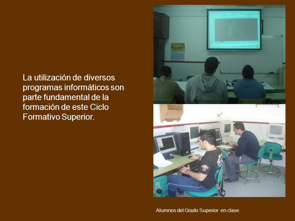 La utilización de diversos programas informáticos son parte fundamental de la formación de este Ciclo Formativo Superior. Voy a trabajar como Alumnos