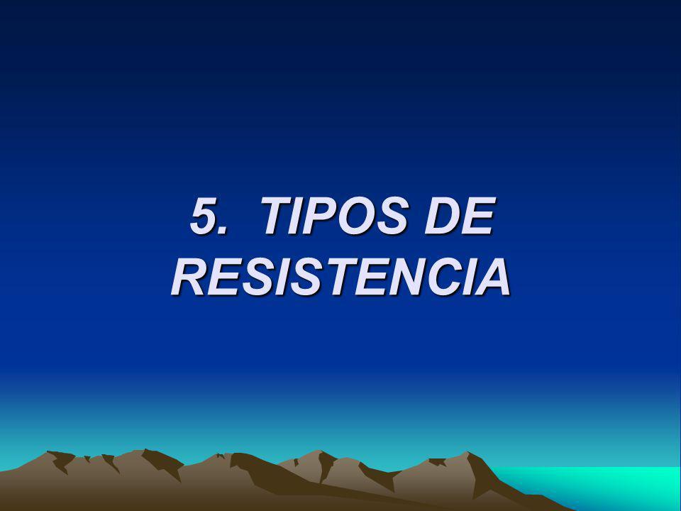 5.TIPOS DE RESISTENCIA