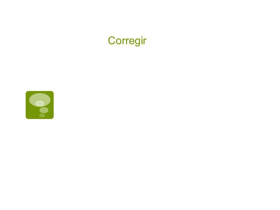 Corregir