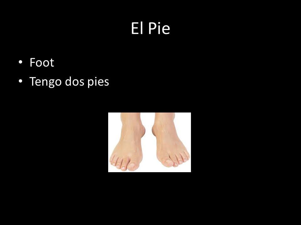 El Pie Foot Tengo dos pies