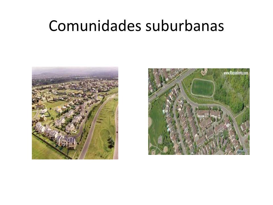 Comunidades suburbanas
