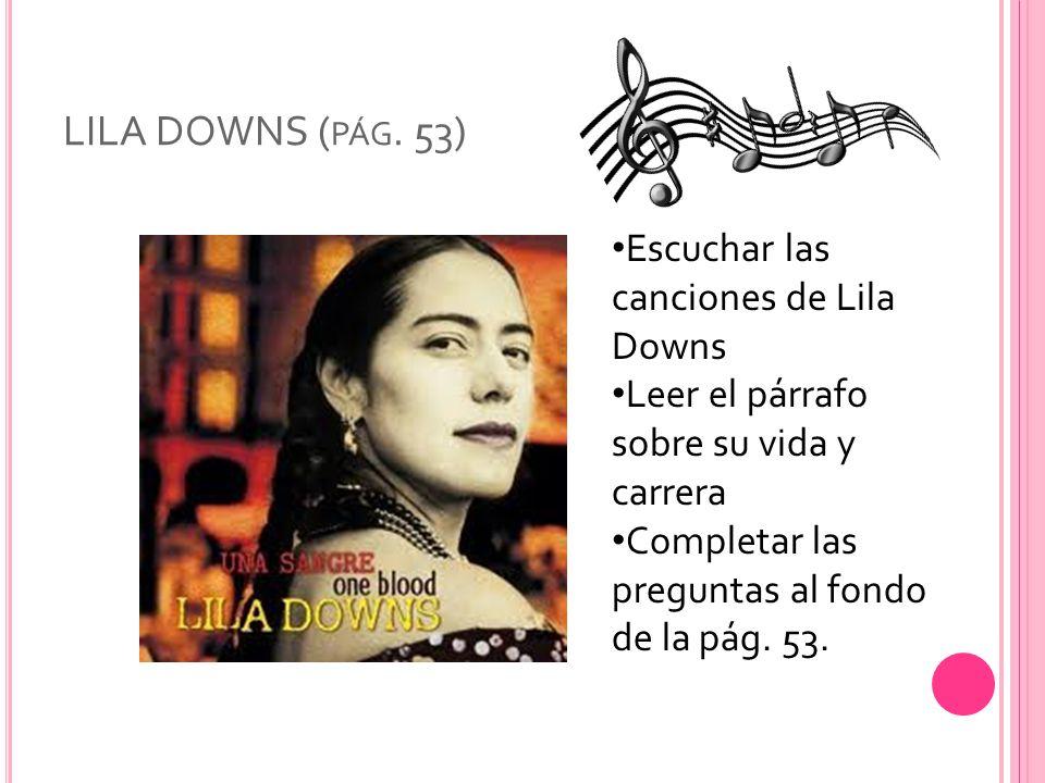 LILA DOWNS ( PÁG.