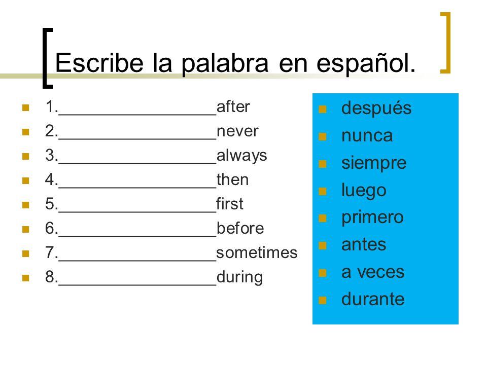 Reflexive Pronouns Before the verb: Me voy a lavar el pelo. After the infinitive: Voy a lavarme el pelo.
