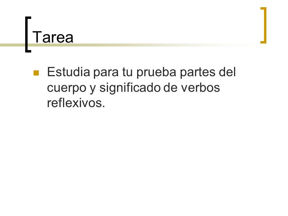 Escribe la palabra en español. 1.________________every day 2._________________at night 3._________________quickly 4._________________typically 5._____