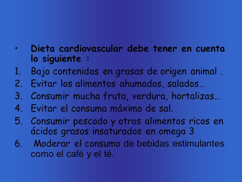 Alimentación, cáncer y enfermedades cardiovasculares: Hay muchos tipos de cáncer que se pueden producir por las sustancias químicas que están presente en los alimentos.