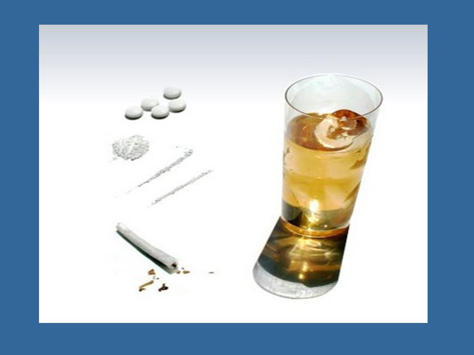 Tabaco, alcohol y drogas: Tabaco: provocada, principalmente, por uno de sus componentes activos, la nicotina; la acción de dicha sustancia acaba condicionando el abuso de su consumonicotina Alcohol: El alcohol es una sustancia depresora del sistema nervioso central; además de tener efecto sobre el cerebro y variar algunas de sus funciones.su uso continuado también afecta a otros órganos como el riñón, el hígado o el sistema circulatorio.