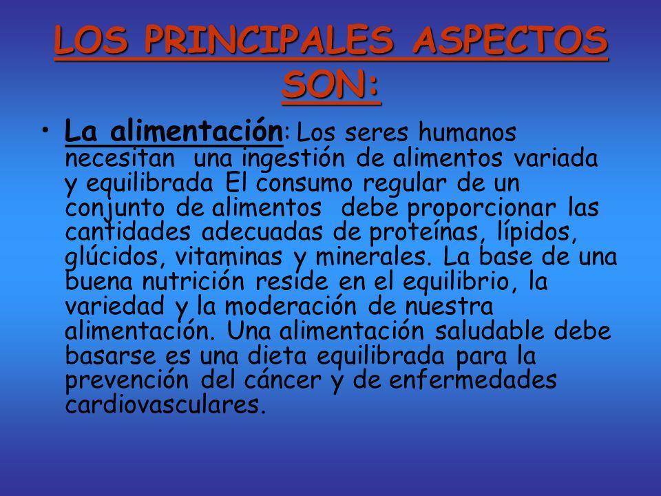 ESTILOS DE VIDA SALUDABLES Es aquel que incluye hábitos de prevención frente a los factores de riesgo para la salud y es compatible con la calidad del medio.