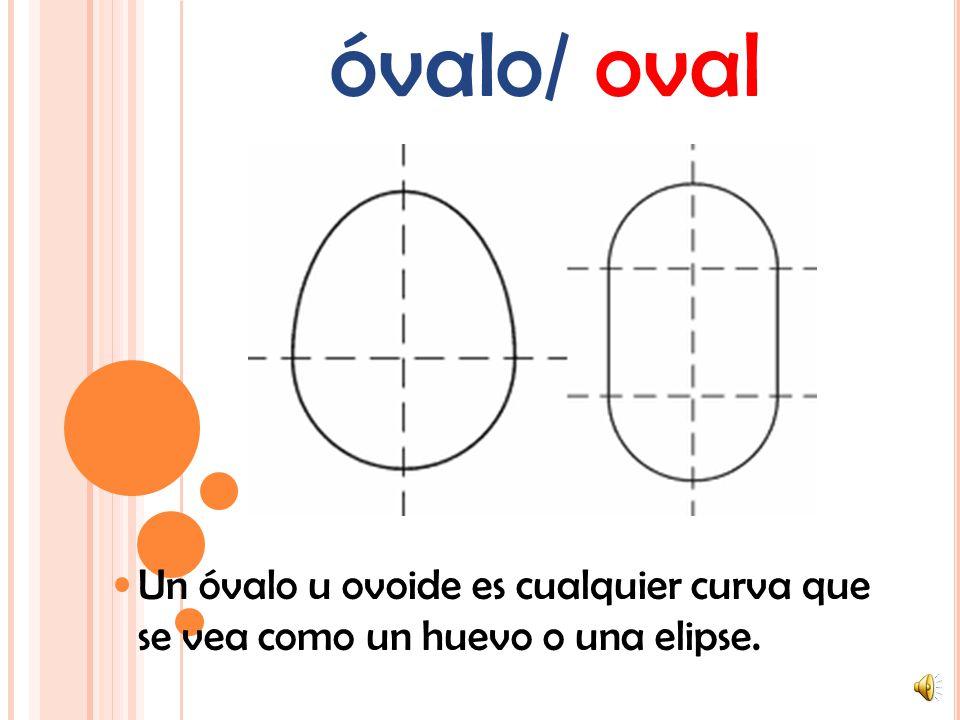 rectángulo/ rectangle Un rectángulo es un polígono de 4 lados en donde cada ángulo es un ángulo recto (90°). También los lados opuestos son paralelos