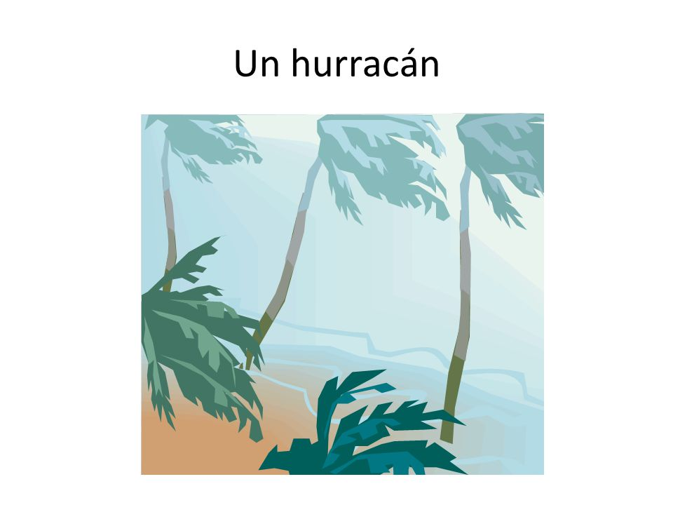 Un hurracán