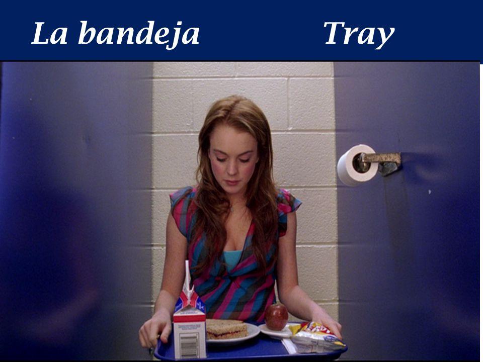 La bandejaTray