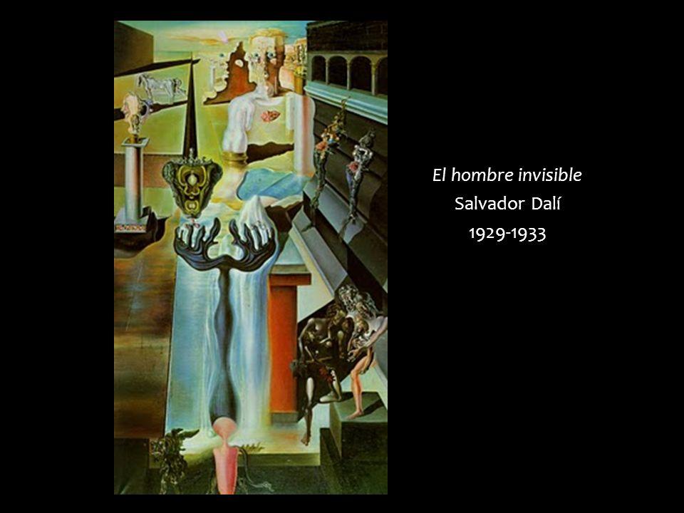 El hombre invisible Salvador Dalí 1929-1933