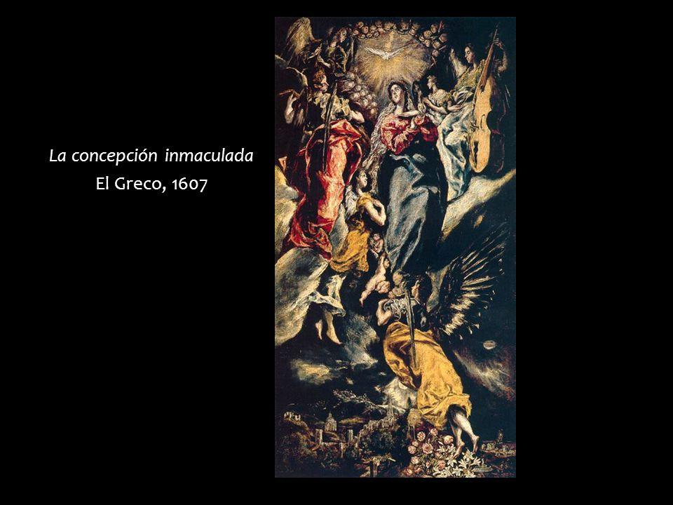 La concepción inmaculada El Greco, 1607