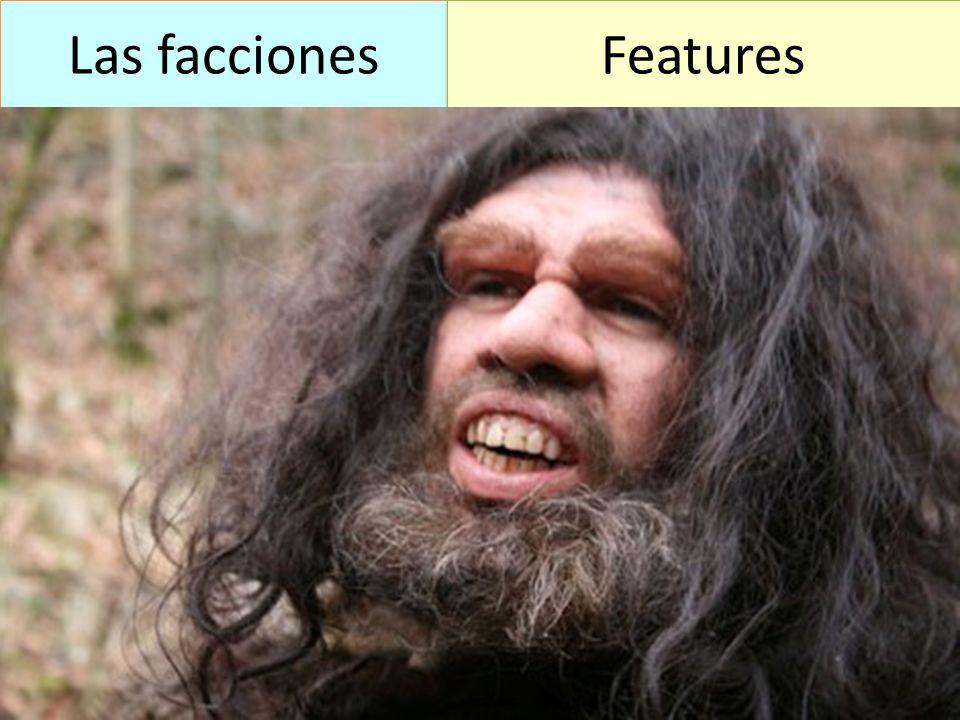 Las facciones Features
