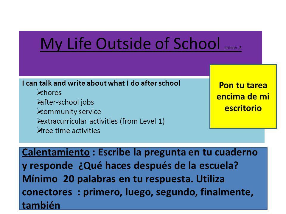 Revisión español 1- práctica en clase Nombre y apellido______________________________ Fecha: hoy es ____ de ________ del_______ T ύ tienes que escribir con bolÍgrafo