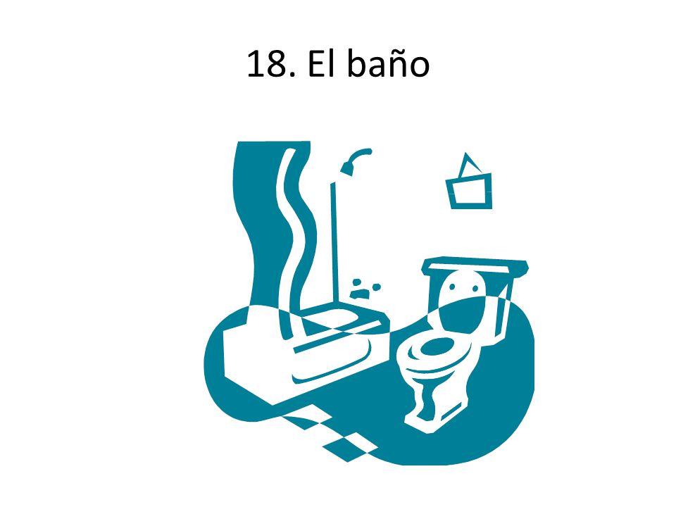 18. El baño