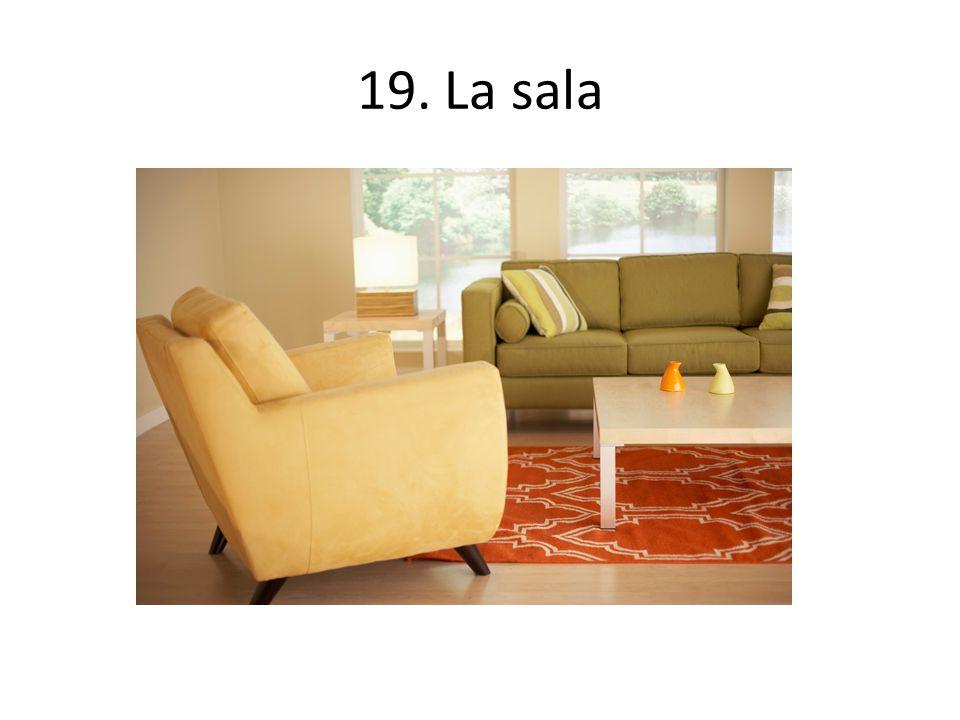 19. La sala
