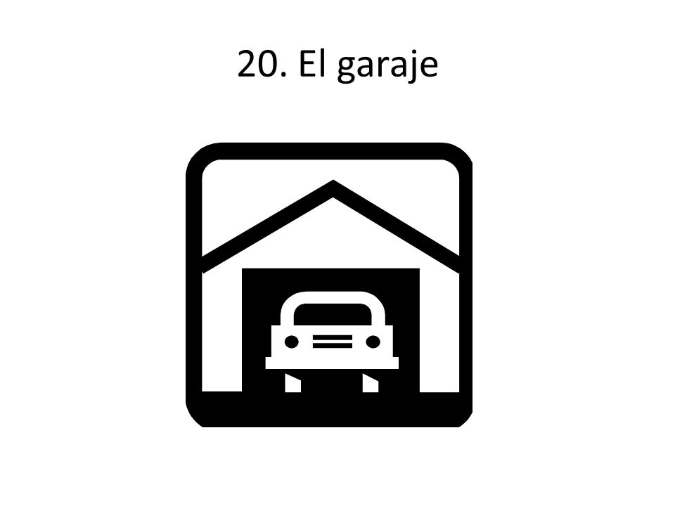 20. El garaje
