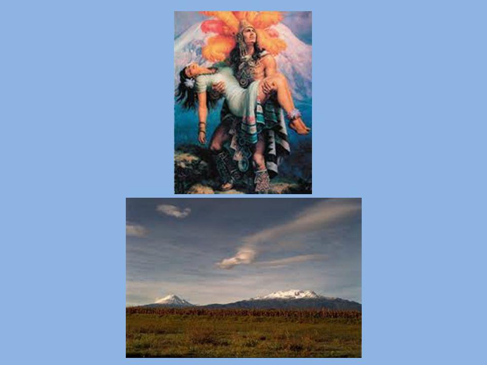 Mitología acerca del volcán El volcán, durante el tiempo prehispánico, era una deidad mexica dedicándose un culto exclusivo a la entidad.