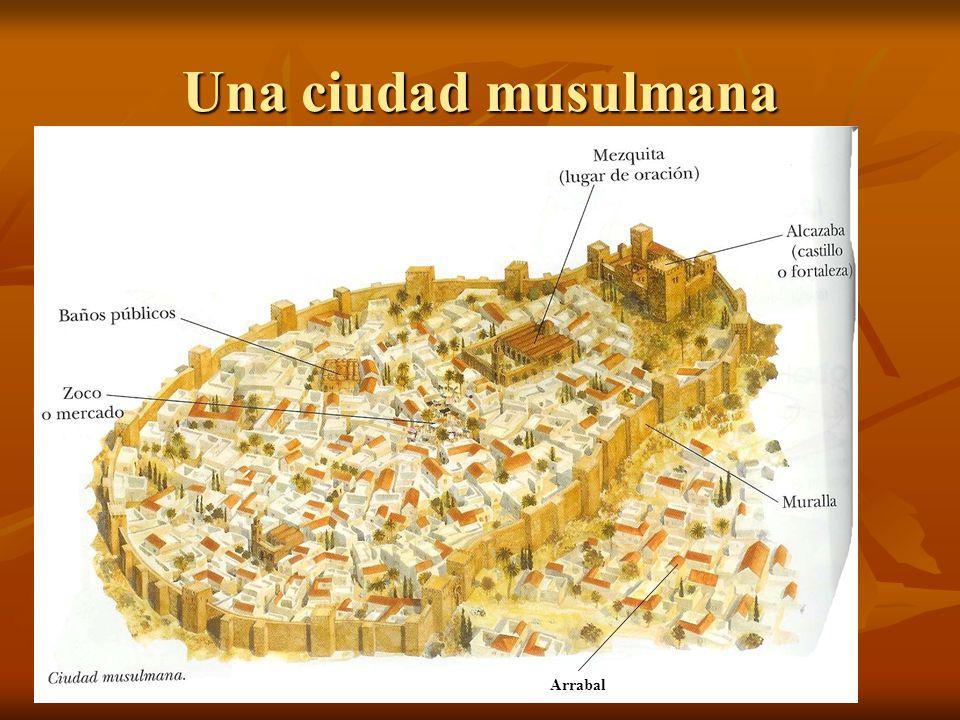Una ciudad musulmana Arrabal