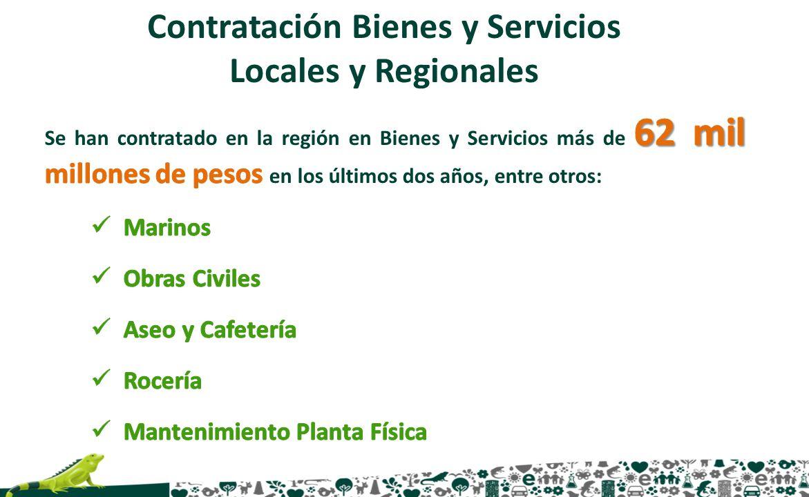 Contratación Bienes y Servicios Locales y Regionales