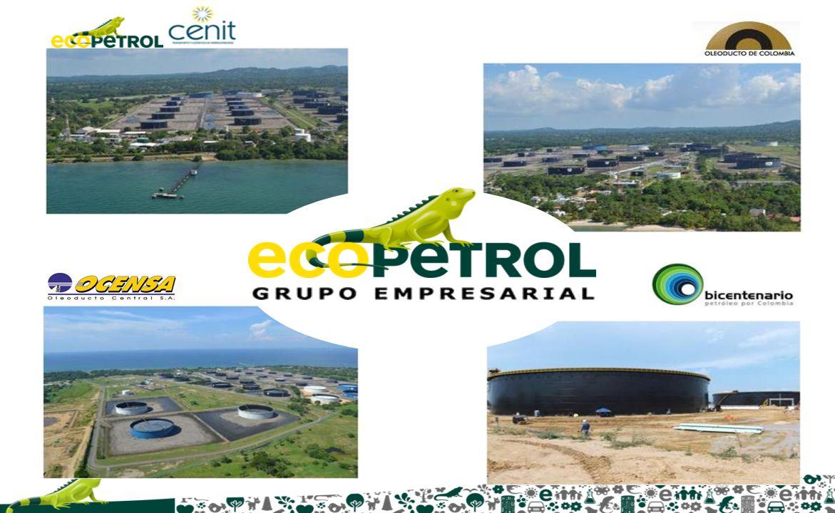ECOPETROL OLEODUCTO DE COLOMBIA Complejo Petrolero en el Golfo de Morrosquillo BICENTENARIO OCENSA OCENSA 3 Monoboyas (TLU) TLU 2 TLU 3 TLU 1 ECOPETROL OCENSA