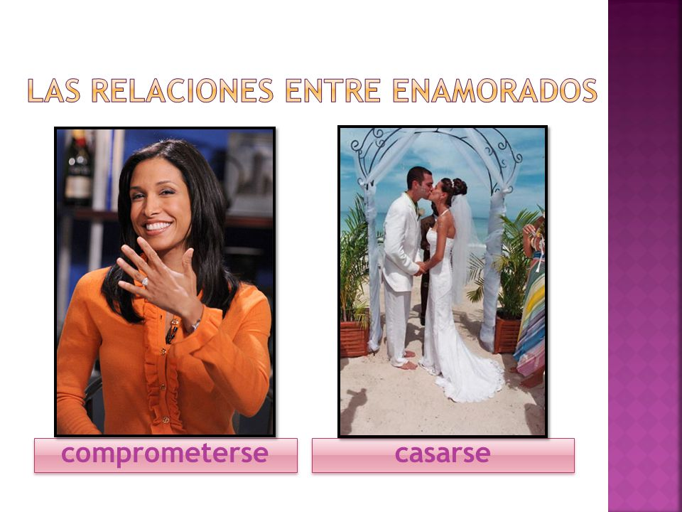 comprometerse casarse
