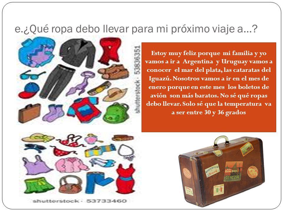 TAREA: 1. Estudia para el quiz-1-unidad 4 ropa, el tiempo y d.op. El Presente Progresivo ? Como se forma en español? Escribe tres ejemplos 2. ¿Que es