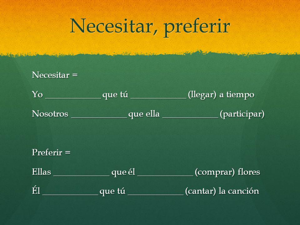 sugerir Sugerir = to suggest Tú ____________ que ellos ____________ (escribir) apuntes Yo ____________ que vosotros ____________ (escuhar) a mi