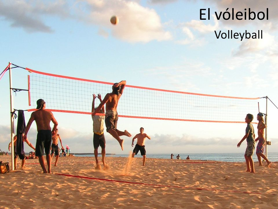El vóleibol Volleyball