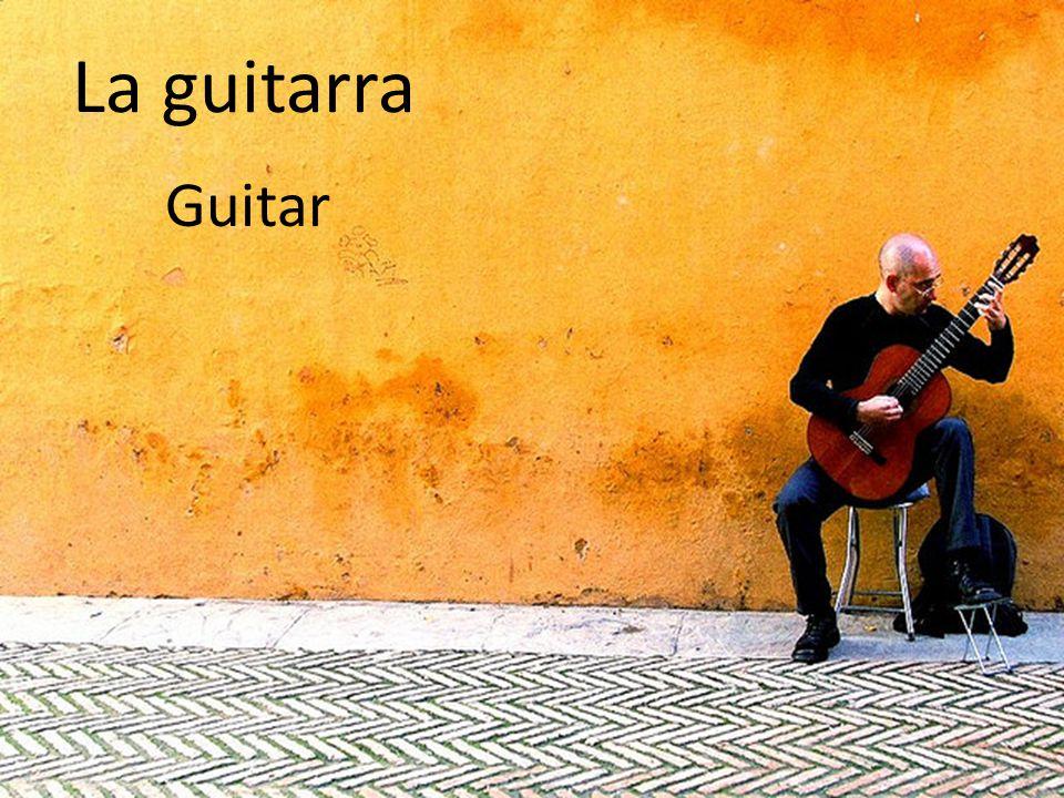 La guitarra Guitar