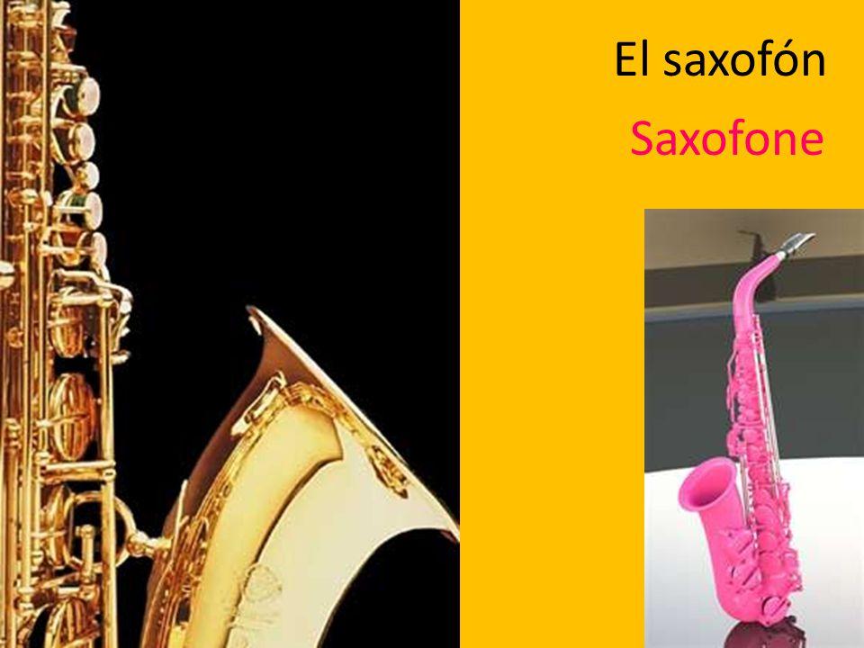 El saxofón Saxofone