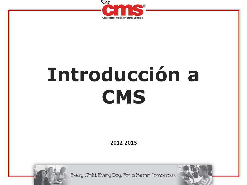 ¿Cómo está organizado CMS.