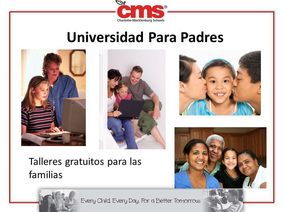 Universidad Para Padres Talleres gratuitos para las familias
