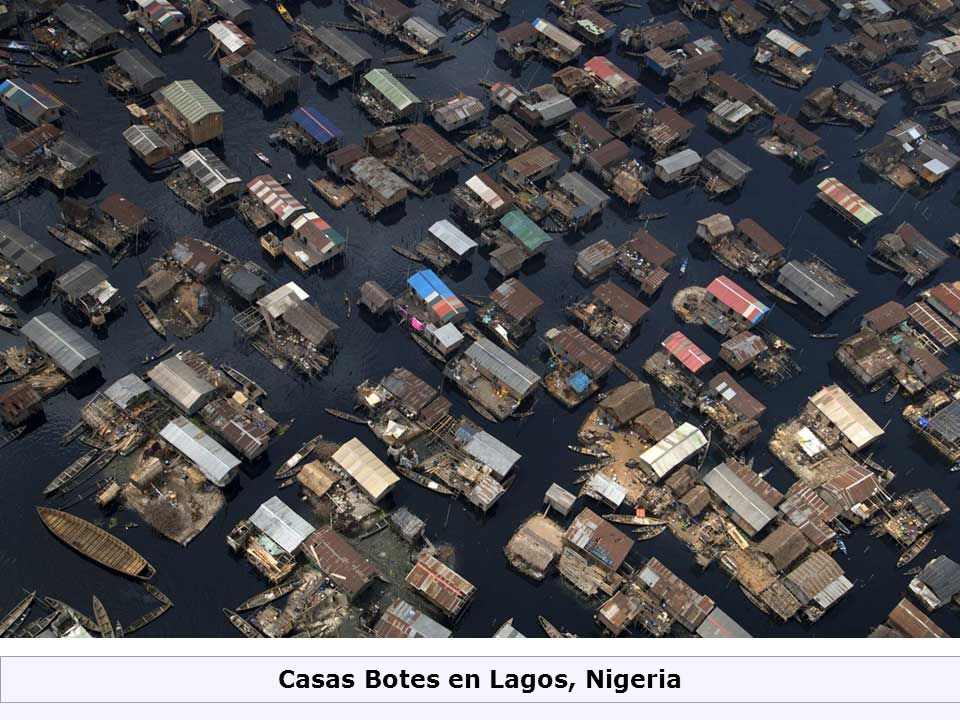 Casas Botes en Lagos, Nigeria