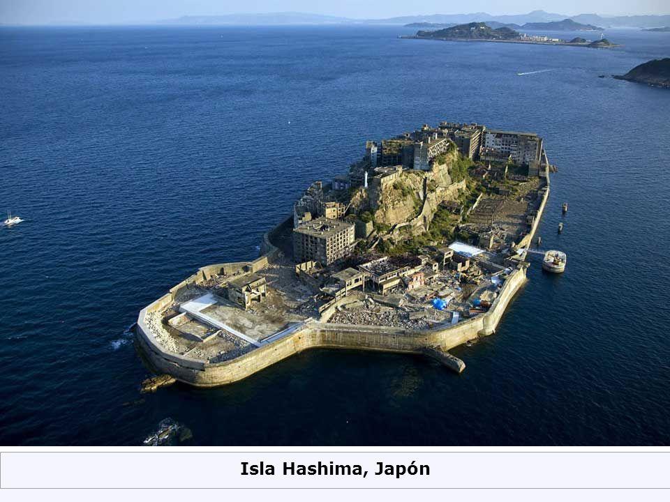 Isla Hashima, Japón