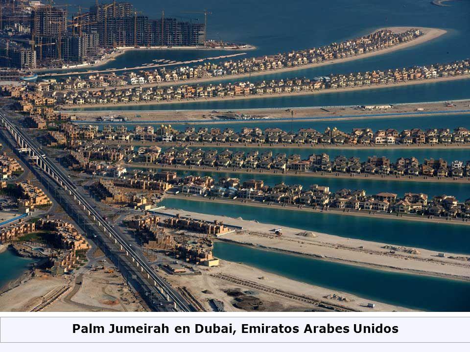 Palm Jumeirah en Dubai, Emiratos Arabes Unidos