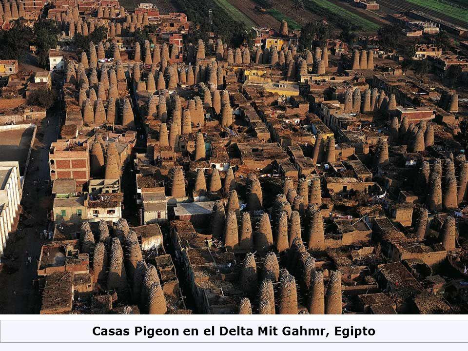 Casas Pigeon en el Delta Mit Gahmr, Egipto