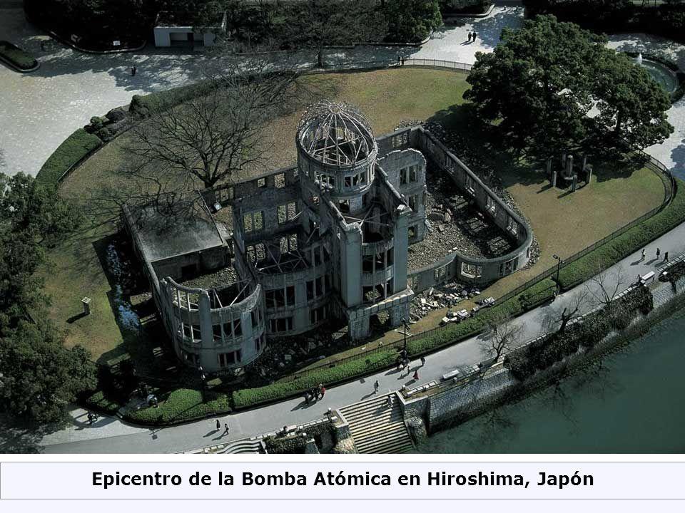 Epicentro de la Bomba Atómica en Hiroshima, Japón